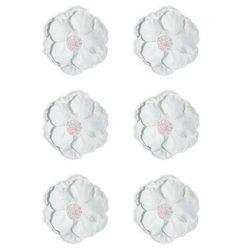 Kwiaty samop. GP papier CLEMATIS op.6 biały 252014