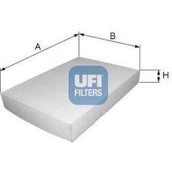 Filtr, wentylacja przestrzeni pasażerskiej UFI 53.248.00