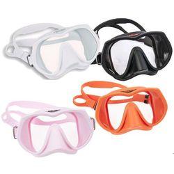 Maska TECLINE FRAMELESS SUPERVIEW (kolor do wyboru) - Pomarańczowy