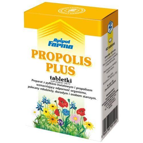 Leki na gardło, Propolis Plus tabl. - 60 tabl.