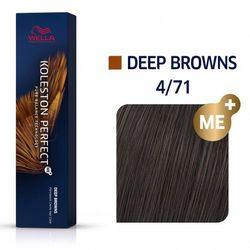 Wella Professionals Koleston Perfect 4/71 Farba do włosów perfekcyjny połysk 60ml