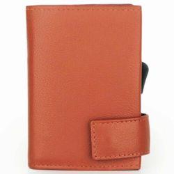 SecWal SecWal 2 Kreditkartenetui Geldbörse RFID Leder 9 cm orange ZAPISZ SIĘ DO NASZEGO NEWSLETTERA, A OTRZYMASZ VOUCHER Z 15% ZNIŻKĄ