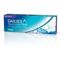 Soczewki kontaktowe, Ciba Vision Dailies Aqua Comfprt Plus 30 sztuk