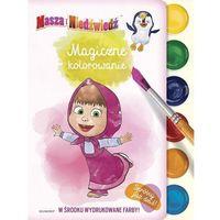 Kolorowanki, Masza i Niedźwiedź Magiczne kolorowanie- bezpłatny odbiór zamówień w Krakowie (płatność gotówką lub kartą).