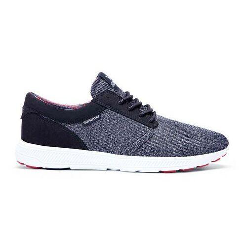 Męskie obuwie sportowe, buty SUPRA - Hammer Run Charcoal Heather/Red/Blk-White (CHR) rozmiar: 42