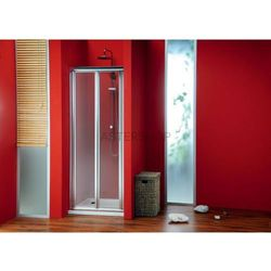 SIGMA drzwi prysznicowe do wnęki składane 80cm szkło czyste SG1828