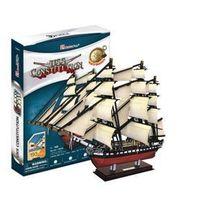 Puzzle, PUZZLE 3D Żaglowiec USS Constitution