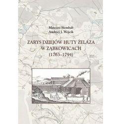 Zarys dziejów huty żelaza w ząbkowicach (1763-1794) - siembab mateusz, wójcik andrzej j. (opr. twarda)