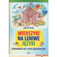 Książki dla dzieci, Wierszyki na leniwe języki (opr. miękka)