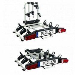 Peruzzo Zephyr bagażnik rowerowy platforma na hak uchył 3 rowery