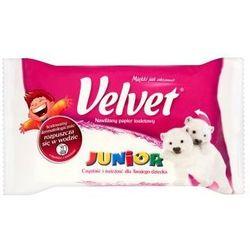 Velvet Junior Nawilżany papier toaletowy 42 szt