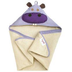 Ręcznik z kapturkiem 3 Sprouts - Hipopotam 736211286093