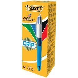 Długopis 4 Colours Grip Medium (12szt) BIC