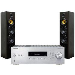 Zestaw stereo PIONEER SX-10AES + TAGA TAV-606F Czarny