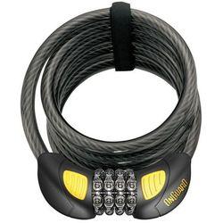 Onguard Dobermann Combo 8031GLO Zapięcie kablowe 185 cm Ø12 mm 2019 Zapięcia na szyfr Przy złożeniu zamówienia do godziny 16 ( od Pon. do Pt., wszystkie metody płatności z wyjątkiem przelewu bankowego), wysyłka odbędzie się tego samego dnia.