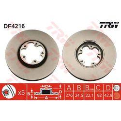 TARCZA HAM TRW DF4216 FORD TRANSIT 2.0DI 00-, 2.0TDCI 02-, 2.3 16V 01-
