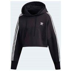bluza ADIDAS - Cropped Hoodie Black (BLACK) rozmiar: 36