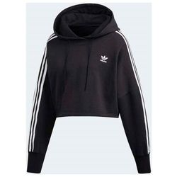bluza ADIDAS - Cropped Hoodie Black (BLACK) rozmiar: 38
