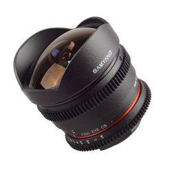 Obiektyw Samyang 8mm T3.8 H.D VDSLR II Canon (F1322401101) Darmowy odbiór w 21 miastach!