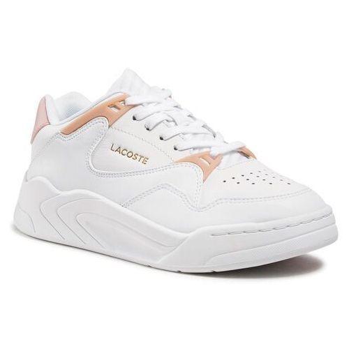 Damskie obuwie sportowe, Sneakersy LACOSTE - Court Slam 0721 1 Sfa 7-41SFA00761Y9 Wht/Lt Pnk