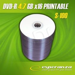 Dvd-R Esperanza 4.7gb X16 Do Nadruku Szpindel 100s