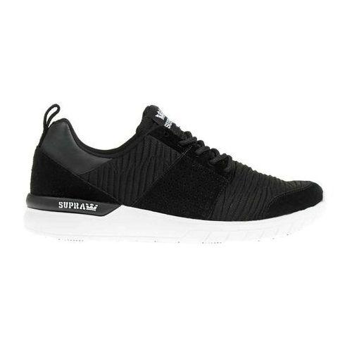 Męskie obuwie sportowe, buty SUPRA - Scissor Black/Black-White (003) rozmiar: 46