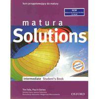 Książki do nauki języka, Matura Solutions Intermediate Student`s Book z płytą CD (opr. broszurowa)