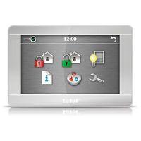 """Sterowniki systemów alarmowych, Manipulator graficzny z ekranem dotykowym 7"""" INT-TSH-SSW - SREBNY"""