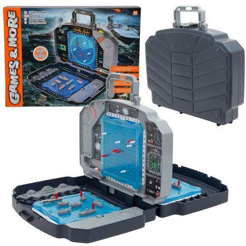 Planszówki, Simba Elektroniczna gra w okręty statki w walizce Światło i dźwięki