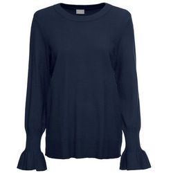 Sweter oversize, długi rękaw, z kolekcji Maite Kelly bonprix srebrny matowy
