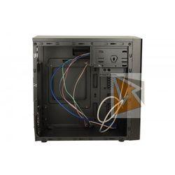 LOGIC Obudowa komputerowa M4 Mini Tower, USB 3.0, USB 2.0, HD-A, w/o PSU(czarna)