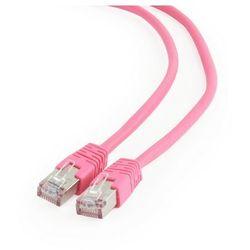Patch cord kat.6 FTP 1M różowy Gembird