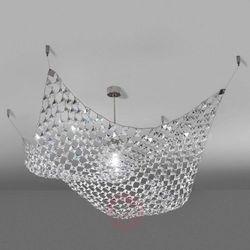 Kreatywna lampa sufitowa Pareo z kryształkami