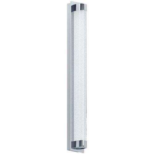 Lampy ścienne, Kinkiet lampa ścienna Eglo Tolorico 1x19W LED IP44 chrom / przezroczysty 97055