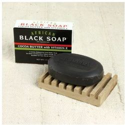African Cocoa Butter Black Soap