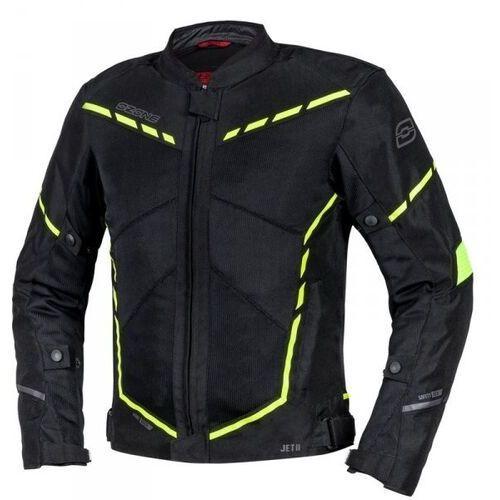 Pozostałe akcesoria do motocykli, Ozone kurtka tekstylna jet ii black/fluo yellow