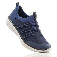 Damskie obuwie sportowe, Buty sportowe wsuwane Skechers z pianką Memory bonprix ciemnoniebieski