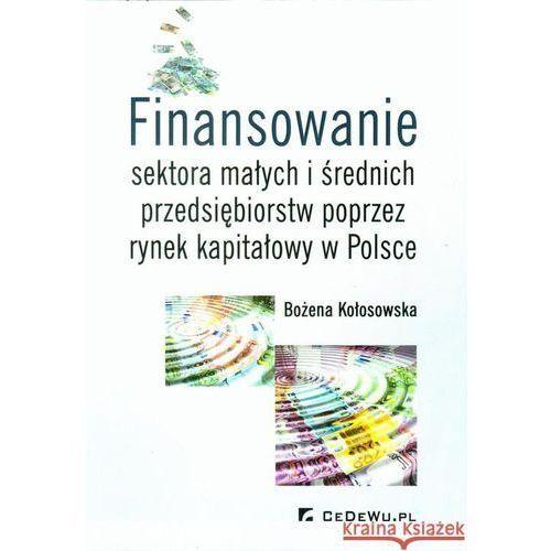 Biblioteka biznesu, Finansowanie sektora małych i średnich przedsiębiorstw ze źródeł pozabankowych (opr. miękka)
