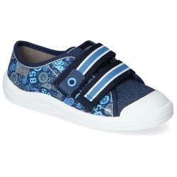 Tenisówki dziecięce Befado 672X073 Granatowe Jeans Befado 672X073 Granatowe Jeans