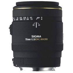 Obiektyw SIGMA AF 70/2.8 EX DG Macro Minolta/Sony + DARMOWY TRANSPORT!