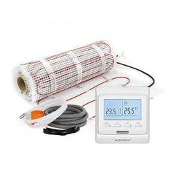 Mata grzejna + regulator temperatury + akcesoria: Kompletny zestaw Warmtec DS2-15/T510 1,5m2 (170W/m2)