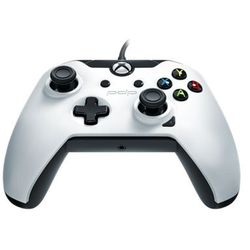 PDP Wired Controller for Xbox One - White - Gamepad - Microsoft Xbox One S