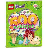 Kolorowanki, LEGO Friends 500 naklejek