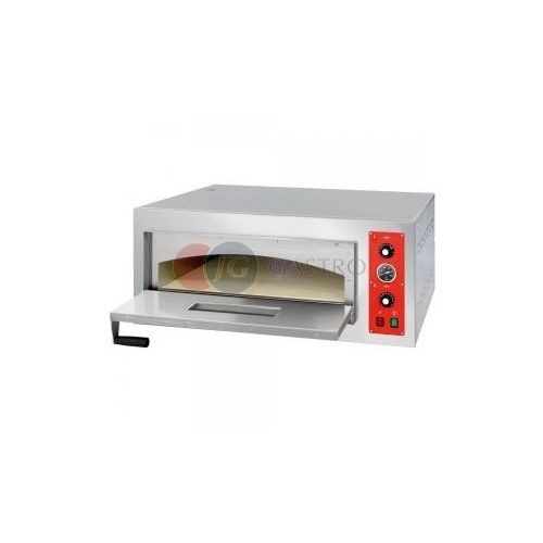 Piece i płyty grzejne gastronomiczne, Piec do pizzy 1-komorowy 4x32cm Stalgast 781014