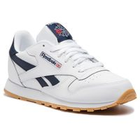 Buty sportowe dla dzieci, Buty Reebok - Classic Leather DV4567 White/Collegiate Navy/Gum