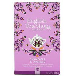 Herbatka ziołowa z rumiankiem i lawendą 20x1,5 g BIO 30 g English Tea Shop
