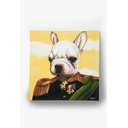 KARE Design:: Obraz olejny Little General Bull Dog