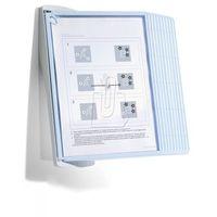 Gabloty reklamowe, Zestaw ścienny Durable Sherpa Bact-O-Clean Wall A4 10 paneli mix kolorów 5911-00