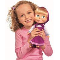 Lalki dla dzieci, Masza i Niedźwiedź Lalka z dźwiękiem i piżamą 30cm