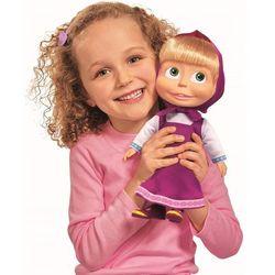 Masza i Niedźwiedź Lalka z dźwiękiem i piżamą 30cm